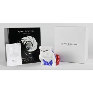 007 スカイフォール Royal Doulton Jack 【2012年Skyfall限定版】 英国旗(ユニオンジャック)のブルドック|value-select
