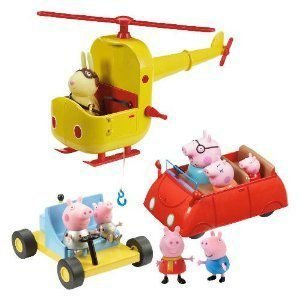 Peppa Pig Multi Vehicle Playset