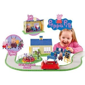Peppa Pig School Time Fun Playset