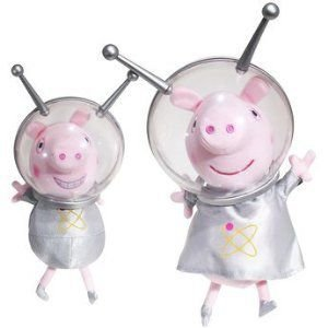 Peppa Pig's Space Cadets Twin Pack Toy