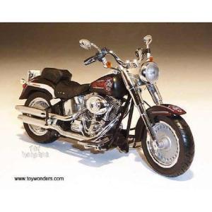 81151 ダイキャスト Promotions - Harley-davidson Flstf Fat Boy Motorcycle (2011, 1:12,