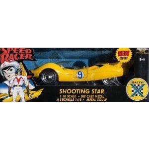 Speed Racer Shooting Star ダイキャスト モデルカー 1:18 ダイキャスト by Ertl ミニカー ダイキャスト value-select