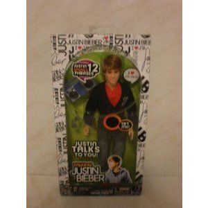 【商品名】Talking Justin Bieber Doll 4 Piece with Black...