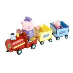 Peppa Pig on Grandpa's Train Toy Playset