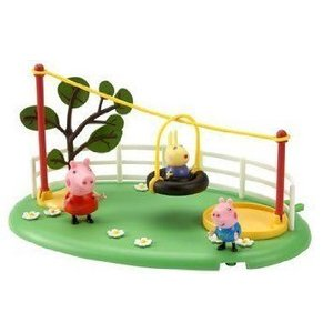 Peppa Pig Playtime Fun Slide and Playset