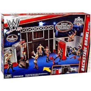 【商品名】WWE (プロレス) RAW Backstage Brawl Playset Exclus...