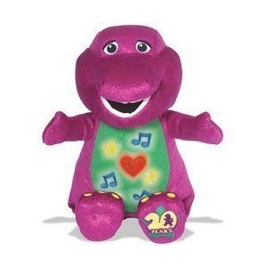 Barney Sing and Celebrate 20 Years ぬいぐるみ