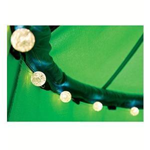 LEDライト付き ナイロン キャンバス HugglePodHangOut HearthSong社 Green|value-select