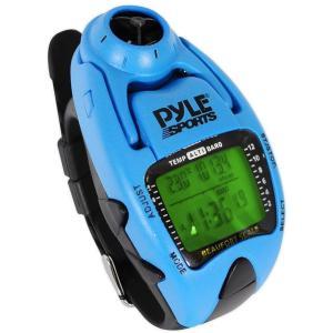 パイルスポーツ 風速計ヨットタイマー腕時計  (ブルー)