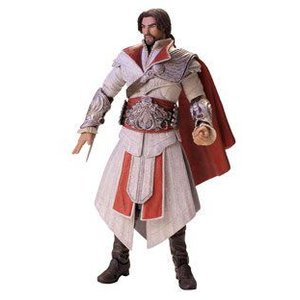 Assassin's Creed アサシンクリードブラザーフッドエツィオアイボリーアクションフィギュア 17.7cm|value-select