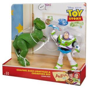 Toy Story ディズニーピクサートイストーリーバズライトイヤー&レックスフィギュア|value-select