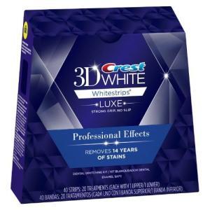 Crest 3D White Luxe クレスト 3D ホワイトストリップ Whitestrips  20回分|value-select