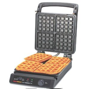 Chef's Choice シェフズチョイス ワッフルメーカー Classic Pro 4-Square Waffle Maker 854 |value-select
