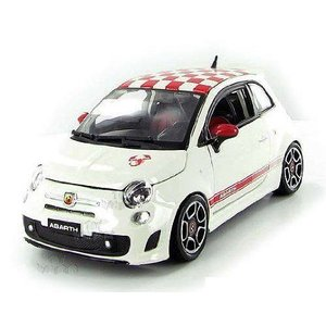 【商品名】BBurago - Fiat 500 Abarth Hard Top (1:24, Whi...