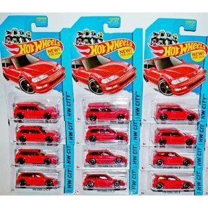2014 Hot Wheels (ホットウィール) Hw City - 1990 Honda Civic EF Lot of 12! ミニカー ダイキャスト 車|value-select