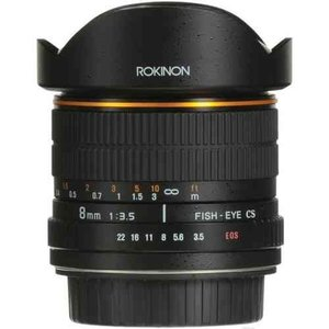 Rokinon ロキノン 8mm Ultra Wide Angle f/3.5 Fisheye Lens 魚眼 for Canon EF Mount (キヤノンEFマウン|value-select|02
