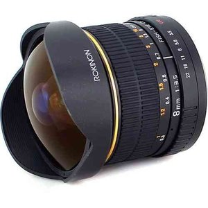 Rokinon ロキノン 8mm Ultra Wide Angle f/3.5 Fisheye Lens 魚眼 for Canon EF Mount (キヤノンEFマウン|value-select|03