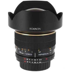 Rokinon ロキノン 14mm Ultra Wide-Angle f/2.8 IF ED UMC Lens 広角 For Pentax (ペンタックスKマウント value-select 03