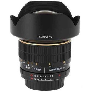 Rokinon ロキノン 14mm Ultra Wide-Angle f/2.8 IF ED UMC Lens 広角 For Nikon With Focus Confirm Chip|value-select|03