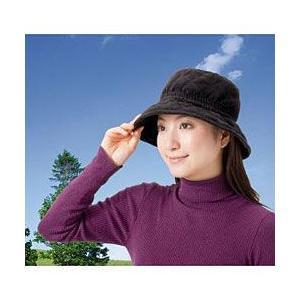 風で飛びにくい あったか帽子 value