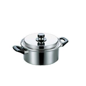 フジノス エレックマスターライト 20cm両手鍋(IH対応) 106087|value