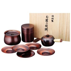 食楽工房 急須・茶筒・建水・茶托セット CB525 value