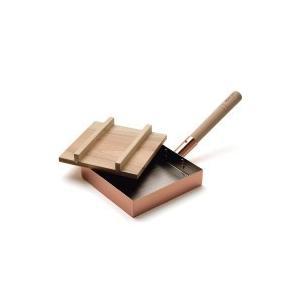 dancyuダンチュウ 純銅玉子焼(18×18cm) 木蓋付 DA-06 value