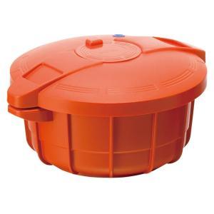 マイヤー 電子レンジ圧力鍋2.3L MPC-2.3PO(パンプキンオレンジ) 6166-093|value