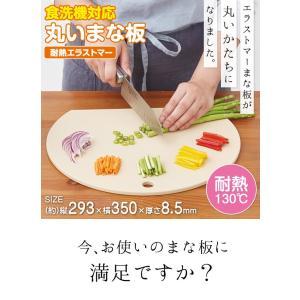 食洗機対応 丸いまな板 耐熱エラストマー /抗菌/ value 02