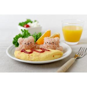 ぴょこんとおにぎり くまにゃん/おにぎり型 おむすび 型 お弁当/|value|10