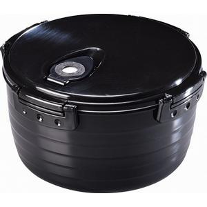 電子レンジ炊飯器 紀州備長炭配合 レンジで一発、ご飯炊き器 すいはんおひつ 3合炊き(KKS-564100)|value|02