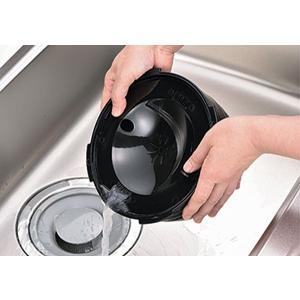 電子レンジ炊飯器 紀州備長炭配合 レンジで一発、ご飯炊き器 すいはんおひつ 3合炊き(KKS-564100)|value|04