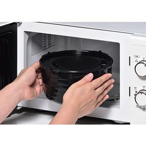 電子レンジ炊飯器 紀州備長炭配合 レンジで一発、ご飯炊き器 すいはんおひつ 3合炊き(KKS-564100)|value|05