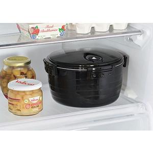 電子レンジ炊飯器 紀州備長炭配合 レンジで一発、ご飯炊き器 すいはんおひつ 3合炊き(KKS-564100)|value|06