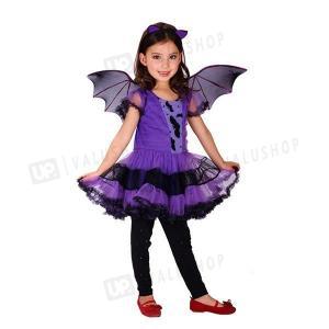 即納 ハロウィン 衣装 仮装 子供 キッズ Halloween コスチューム コスプレ 巫女 蝙蝠 ...