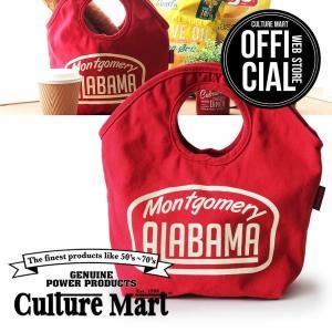 CULTURE MART MINI TOTE BAG ミニトートバッグ(レッド)(エコバッグにもおすすめ)|vanda