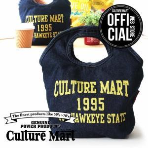 CULTURE MART MINI TOTE BAG ミニトートバッグ(デニム)(エコバッグにもおすすめ)|vanda