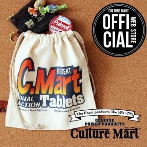CULTURE MART 巾着袋 ミニポーチ / DUAL ACTION Tablets|vanda