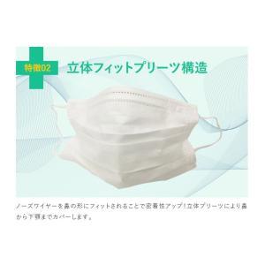 マスク 50枚 使い捨てマスク 3層構造 ウイルス飛沫対策 同梱不可 送料無料対象外|vanda|03