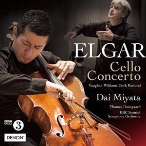 エルガー:チェロ協奏曲/ヴォーン=ウィリアムズ:暗愁のパストラル / 宮田大 (CD)