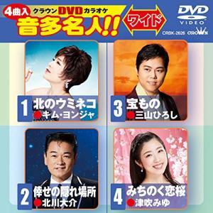 北のウミネコ/倖せの隠れ場所/宝もの/みちのく恋桜 / DVDカラオケ (DVD) vanda