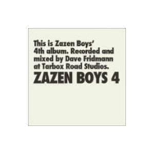 ZAZEN BOYS4 / ZAZEN BOYS (CD)