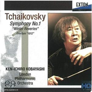 【CD】チャイコフスキー:交響曲第1番「冬の日の幻想」、序曲「1812年」/小林研一郎 コバヤシ ケンイチロウ