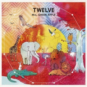 TWELVE / Mrs.GREEN APPLE (CD)...