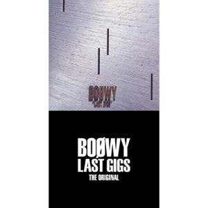 LAST GIGS THE ORIGINAL-(完全限定盤スペシャルボックス) / BOφWY(ボウイ) (CD) (発売後取り寄せ)|vanda