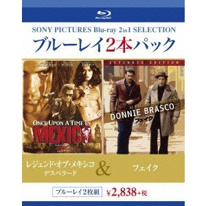 レジェンド・オブ・メキシコ/デスペラード/フェイク(Blu-ray Disc) / ジョニー・デップ (Blu-ray)|vanda