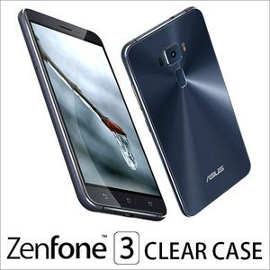 ZenFone 3 クリアケース  ZenFone 3 for Clear case クリアケース 透明ケース ZenFone スリム シンプル 安い フィット 超軽量 ネコポス vaniastore