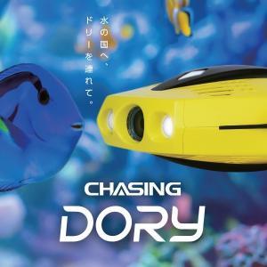 GLADIUS 水中ドローン チェイシング ドリー CHASING DORY グラディウス 国内正規品 コンパクト 水深15m潜航 1080p HD f/1.6高性能レンズ 宅配便|vaniastore