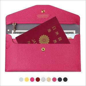 パスポート財布 パスポートケース レディース メンズ HANSMARE Travel Smart wallet お札いれ 小銭入れ カード入れ 長財布 スリム財布 宅配便|vaniastore