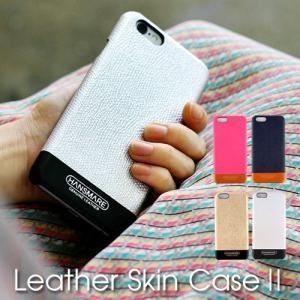 【訳あり】iPhone 8 7  スマホケース アイフォン iPhone 8 Plus 7 Plus iPhone 6s 6 カバー ハード カード入れ HANSMARE LEATHER SKIN2  本革 おしゃれ かわいい|vaniastore